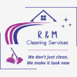 R & M Cleaning Services  - Logo