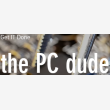 the PC dude - Logo