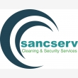 sancserv cleaning and security services - Logo