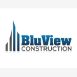 BluView Construction - Logo