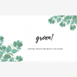 groen! Natural Health and Beauty Solutions - Logo