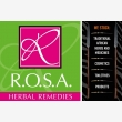 Rosa Cosmetics and Herbal Remedies - Logo