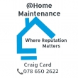 @Home Maintenance - Logo