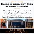 Classic Wrought Iron Manufacturing - Logo