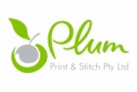 Plum Print and Stitch - Logo