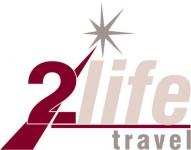2Life Travel - Logo