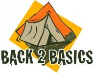 Back 2 Basics Adventure Campsite - Logo
