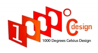 1000 Degrees Celsius - Logo
