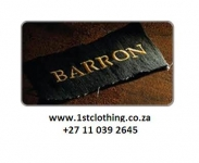 Barron Clothing @ First Clothing - Logo