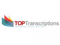 Top Transcriptions  - Logo