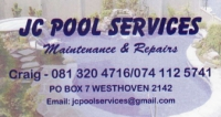JC POOL SERVICES - Logo