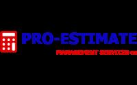 Pro-Estimate Management Services - Logo