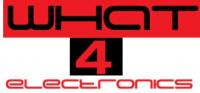 What 4 Electronics - Logo