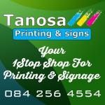 Tanosa Printing & Signs - Logo