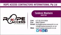 Rope Access Contractors International (Pty) Ltd  - Logo