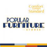 Popular Furniture Stores - Logo