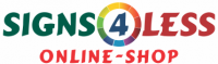 Signs 4 Less - Logo