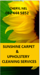 Sunshine Carpets and Upholstery Cleaning - Logo
