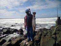 Fishing at Mbotyi Transkei - Logo