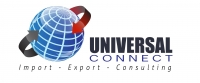 UNIVERSAL  CONNECT IMPORT AND EXPORT - Logo