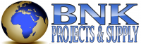 BNK Projects and Supply - Logo