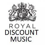Royal Discount Music Store - Logo