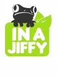 IN A JIFFY - Logo