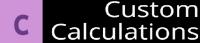 Custom Calculations - Logo