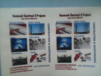 manasseh electrical and projects - Logo