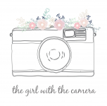 The Girl With The Camera - Logo