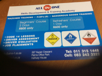 All-in-one driving academy - Logo