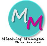 Mischief Managed (Virtual Assistant) - Logo