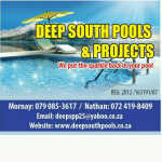 Deep South Pools and Projects (pty) LTD - Logo