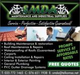 SMDA Maintenance and Industrial Supplies - Logo