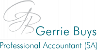 Gerrie Buys Professional Accountant SA - Logo