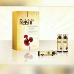 Reishi /Ganoderma Mushroom with Whealthy Life - Logo