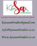 embroidery printing kensa embroiders - Logo