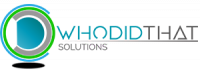 WHODIDTHAT Solutions - Logo