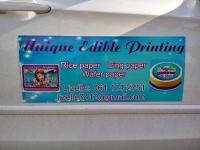 Unique Edible Printing - Logo