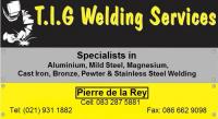 T.I.G. Welding Services CC - Logo