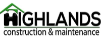 Highlands Construction & Maintenance - Logo