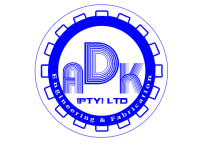 AD K Engineering,Fabrications and Electrical  - Logo