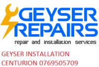Centurion Geyser Repair 0769505709 Free Quote - Logo