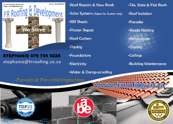 Fr Roofing Amp Development Painting Amp Home Developments