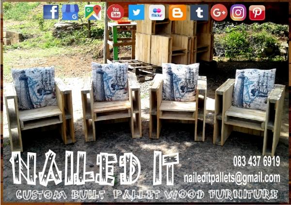 nailed it custom built pallet wood furniture custom built pallet
