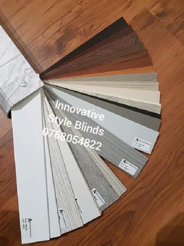 Innovative Style Blinds Wooden Aluminium Venetian