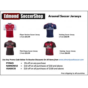 official photos c2466 6de2b Edmond Soccer Shop Club And National Teams, Replica Jerseys ...