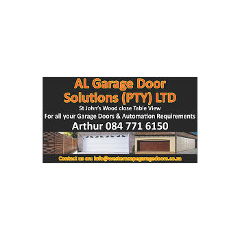 Al Garage Door Solutions Residential Garage Doors Automations Residential Housing Construction And Maintenance In Table View Cape Town Western Cape Al Garage Door Solutions The Best Free Online Business